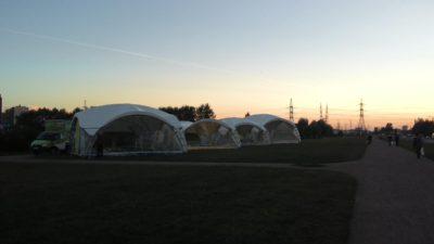 Арочный шатер 8х8м Дюна