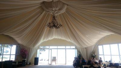 Арочный шатер Гексагональ 260м2
