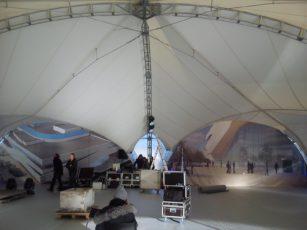 Арочный шатер 20х20м