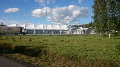 Арочный шатер 20х25м Long