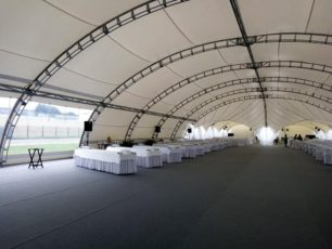 Арочный шатер 20х25 Long