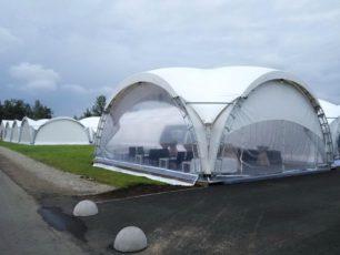 Арочный шатер 10х10м top