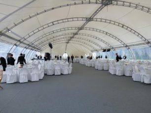 Арочный павильон 20х25м
