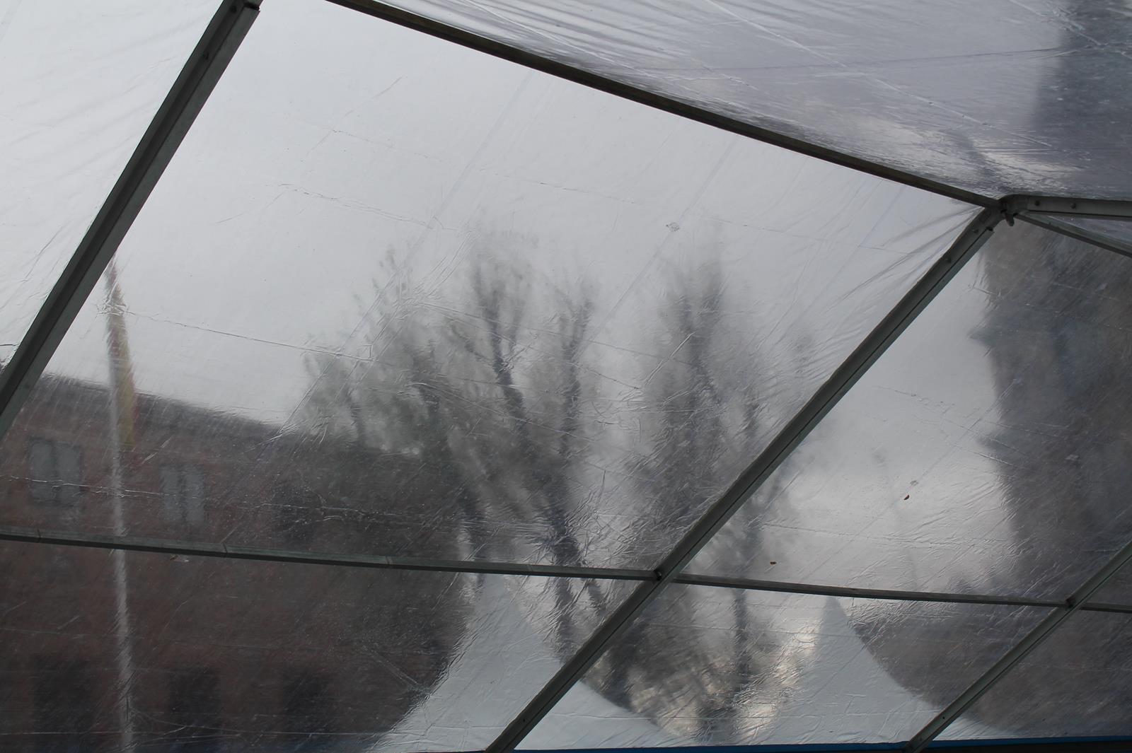 Прозрачный шатер