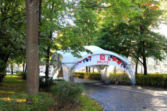 арочный шатер 8х8 top