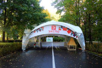 Арочный шатер 8х8м top