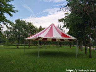 Шестигранный шатер пагода