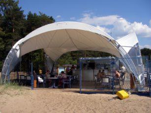 Ресторан в шатре